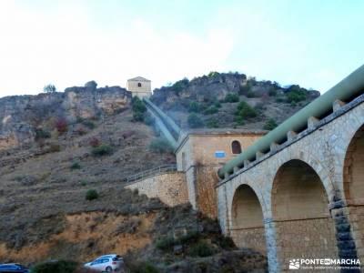 Cancho de la Cabeza-Patones; castillo coca excursiones y senderismo embalse atazar ruta laguna grand